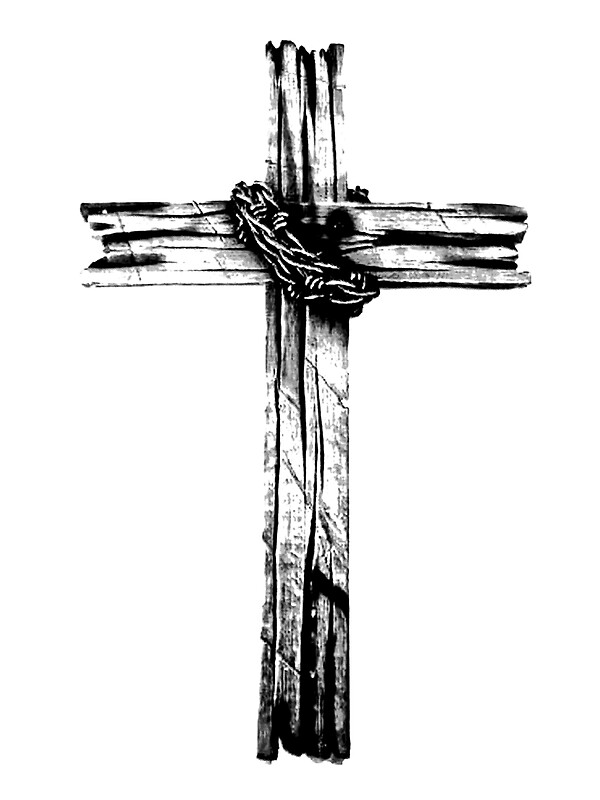 The Old Rugged Cross By Digitaleclectic