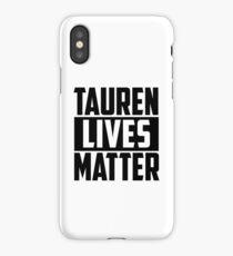 Warcraft - Tauren Lives Matter iPhone Case/Skin