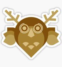 Oro Owl Sticker