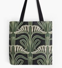 Art Nouveau Botanical Tote Bag