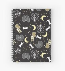 Sniglet's Spooky Monsters and Moons Spiral Notebook
