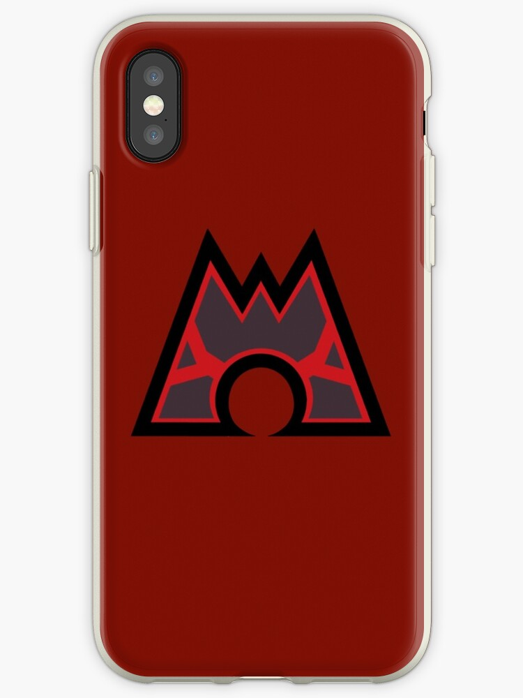 Pokmon Team Magma Symbol Iphone Cases Covers By Angelghosty