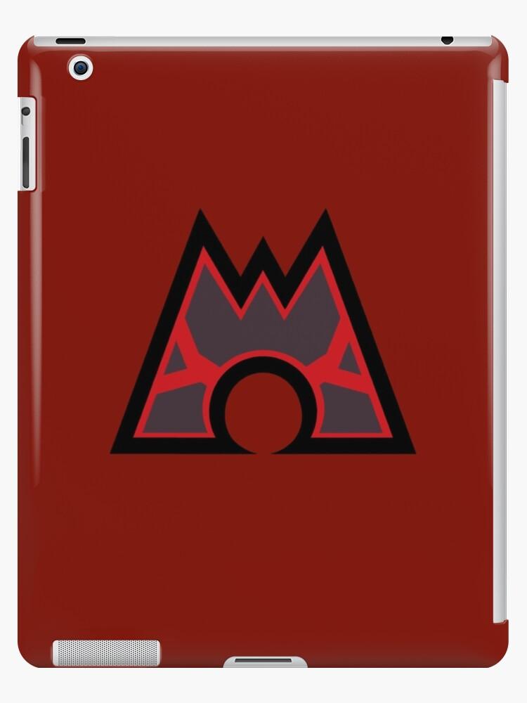 Pokmon Team Magma Symbol Ipad Cases Skins By Angelghosty