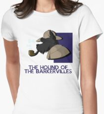 THE HOUND OF THE BARKERVILLES Womens Fitted T-Shirt