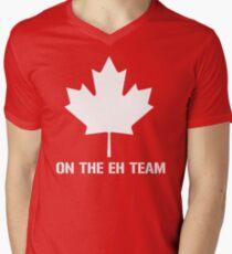 On The Eh Team Men's V-Neck T-Shirt