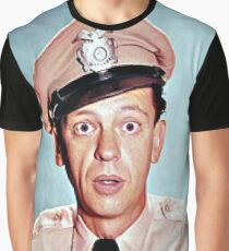 Barney Fife in color Graphic T-Shirt