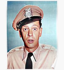 Barney Fife in color Poster