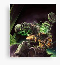 Warcraft Gob Tauren Canvas Print