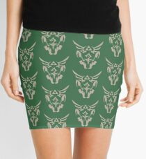 Wolf Link Blue Eyed Beast Mini Skirt