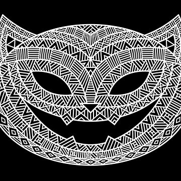 Patterned Halloween Cat by OzureFlame