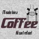 Can't refuse coffee by Dave DelBen