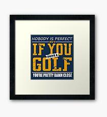 Volkswagen Golf Framed Print