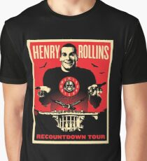 henry rollins tour date time 2016 nh1 Graphic T-Shirt