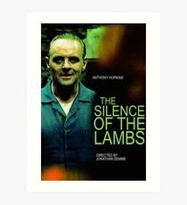 THE SILENCE OF THE LAMBS 24 Art Print