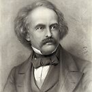 Portrait of Nathaniel Hawthorne by Vintage Works
