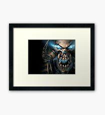 Warcraft Scourge Framed Print