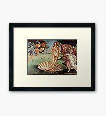 Birth Of Venus artwork Framed Print
