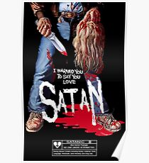 Say You Love Satan 80s Horror Podcast - Maniac Poster