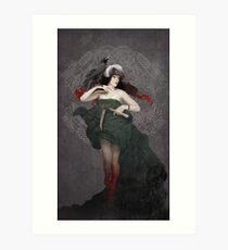 Our Lady of Roadkill Art Print