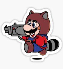 Rocket Tanooki Sticker