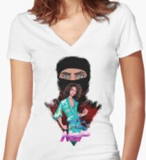 NSP! Women's Fitted V-Neck T-Shirt