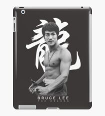 Bruce Lee Graphic T shirt The Dragon iPad Case/Skin