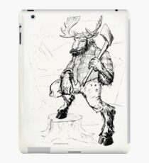 Lumber Moose iPad Case/Skin