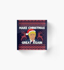Make Christmas Great Again Acrylic Block