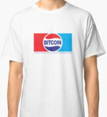 Bitcoin - The Choice of New Generation Classic T-Shirt