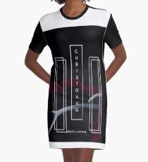 ChristGang Horns Graphic T-Shirt Dress