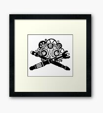 Doctor Who Army Framed Print