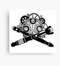 Doctor Who Army Canvas Print