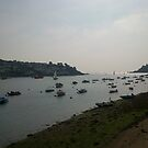 Boating At Fowey by Thrombo69