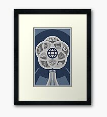 EPCOT Center 30th Variant Framed Print