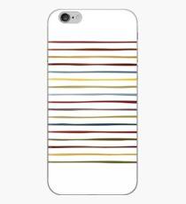 Irregular Stripes (Mineral) iPhone Case
