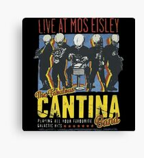 Star Wars - Cantina Band On Tour Canvas Print