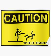 THIS IS SPARTA Poster