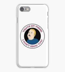 THAT'S MY PURSE [REWORKED EDITION] iPhone Case/Skin