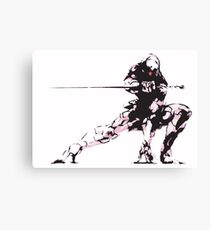 Gray Fox (Cyborg Ninja) - Metal Gear Solid Canvas Print
