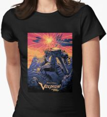 Blue Voltron Womens Fitted T-Shirt