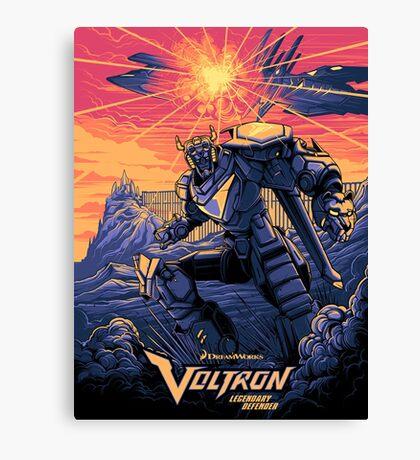 Blue Voltron Canvas Print