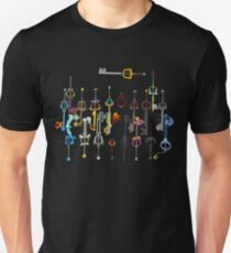 Kingdom Hearts Keyblades T-Shirt