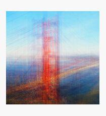 Average Golden Gate Bridge Photographic Print