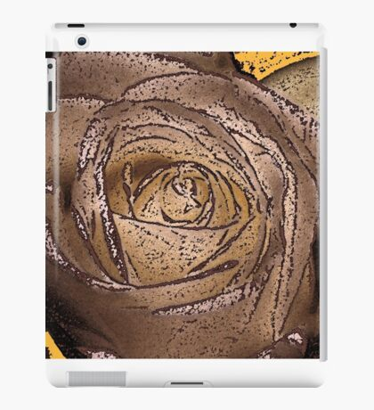 cream rose iPad Case/Skin