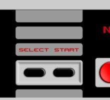 NES Controller Sticker Sticker