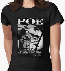 EDGAR ALLAN POE Women's Fitted T-Shirt
