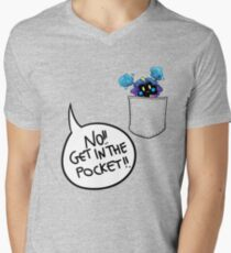 Get in the pocket!! (vr. 2) Mens V-Neck T-Shirt