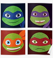 Turtle Bunch Poster