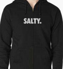 Salty. Zipped Hoodie