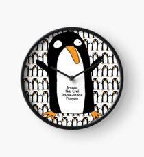 Brenda Penguin Clock Clock